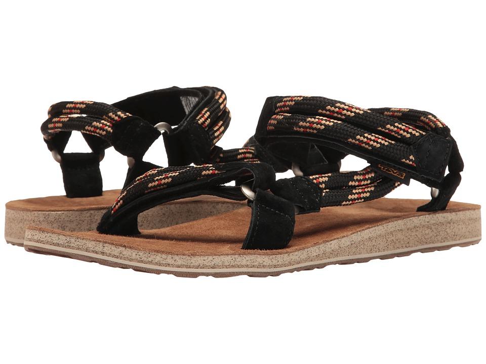 Teva Original Universal Rope (Black) Men