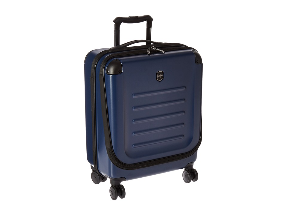 Victorinox - Spectra Dual-Access Extra Capacity Carry-On (Navy) Carry on Luggage