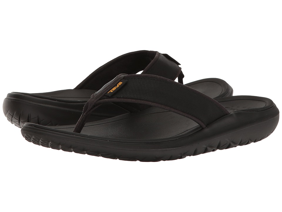 Teva Terra-Float Flip (Black Solid) Men