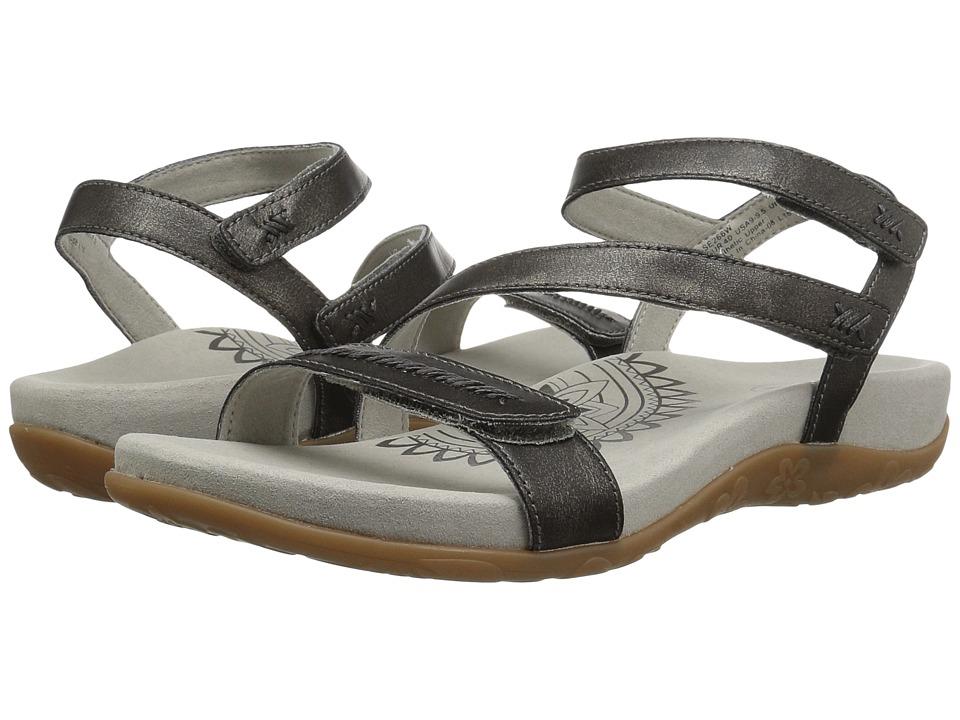 Aetrex - Gabby (Pewter) Women's Sandals