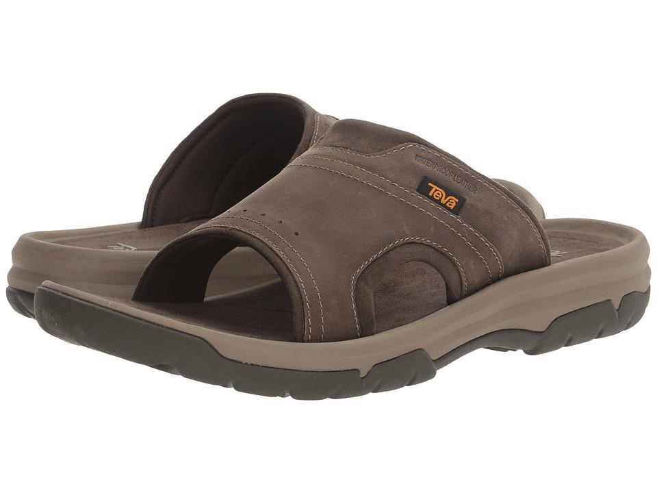 Teva - Langdon Slide (Walnut) Men's Sandals