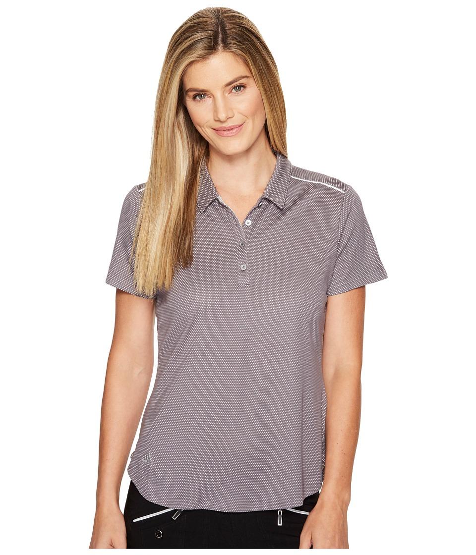 adidas Golf - Microdot Short Sleeve Polo