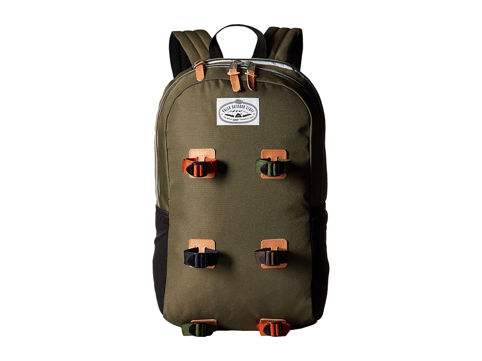 Poler Classic Day Pack (Burnt Olive) Backpack Bags