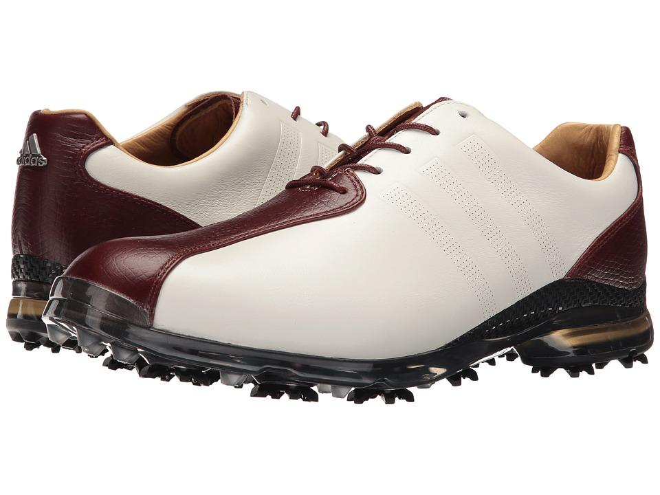 adidas Golf Adipure Tp (Tour White/Red Wood/Scout Metallic) Men
