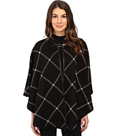 Ivanka Trump - Plaid Poncho