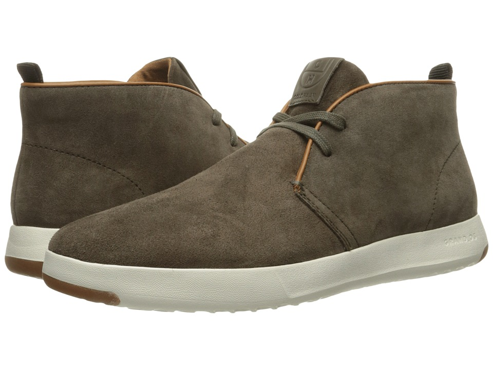 Cole Haan GrandPro Chukka (Brown Oiled Velour Suede) Men
