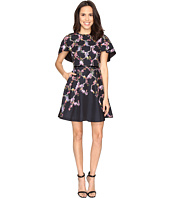 Ted Baker - Vianna Lost Gardens Frill Sleeve Dress