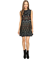 M Missoni - Lurex Floral Jaquard A-Line Dress