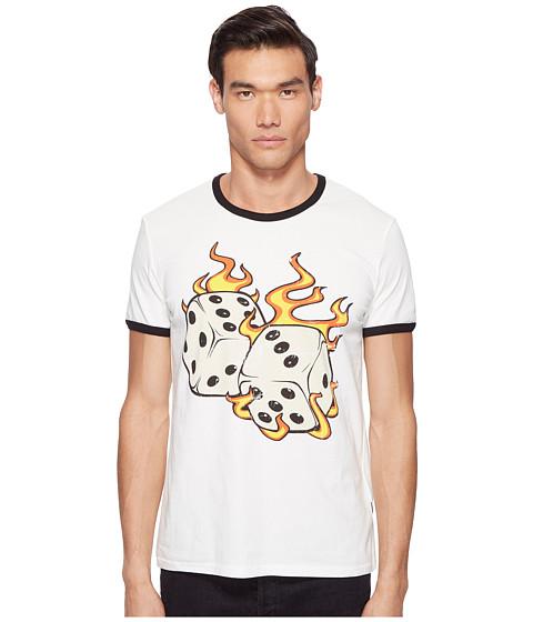 Just Cavalli Flaming Dice T-Shirt