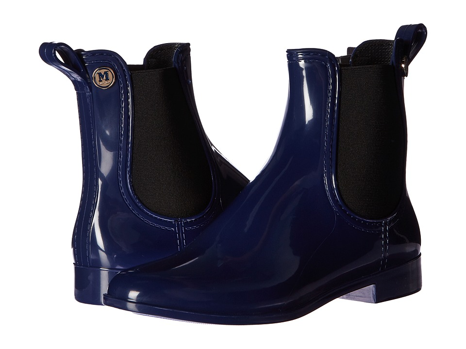 M Missoni Ankle Rain Boots (Blue) Women