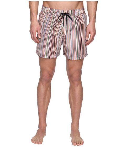 Paul Smith Short Classic Multi Stripe Swimsuit