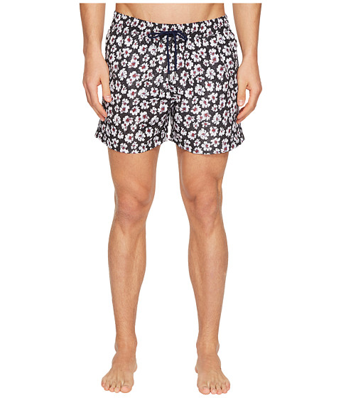 Paul Smith Short Classic Etched Floral Swimsuit