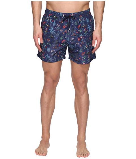 Paul Smith Short Classic Botanical Swimsuit