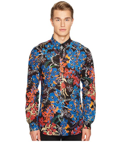 Just Cavalli Floral Print Shirt