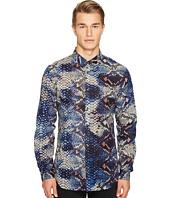 Just Cavalli - Python Tie-Dye Print Shirt