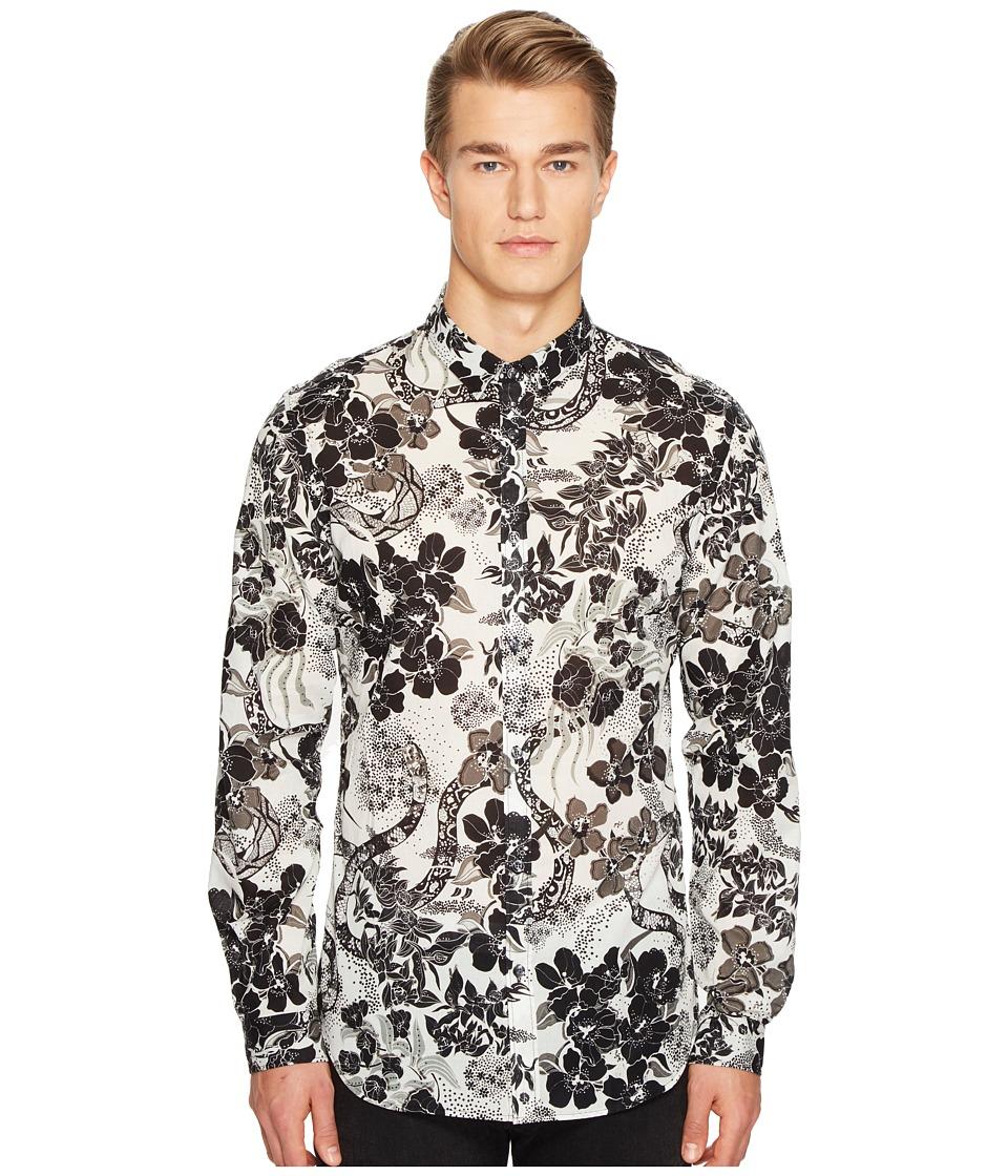 Just Cavalli Souvenir Print Shirt (White) Men