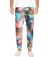 Just Cavalli - Tie-Dye Palm Print Pants