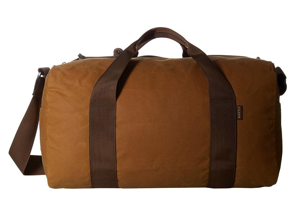 Filson Field Duffel Small (Dark Tan/Brown) Duffel Bags