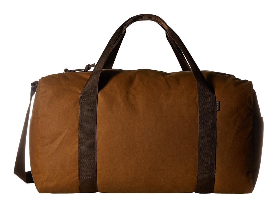 Filson Field Duffel Medium (Dark Tan/Brown) Duffel Bags