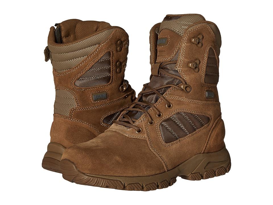 Magnum - Response III 8 Side Zip (Coyote) Men's Work Boots