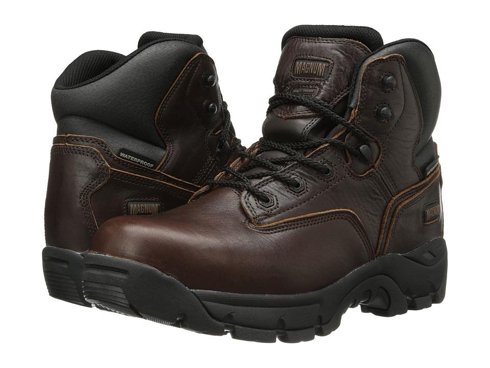 Magnum - Precision Ultra Lite II Wp Ct (Rioja Brown) Men's Work Boots