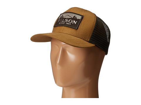Filson Logger Mesh Cap - Light Brown/Green