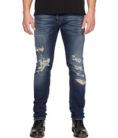 Just Cavalli - Super Slim Fit Destroyed Jeans