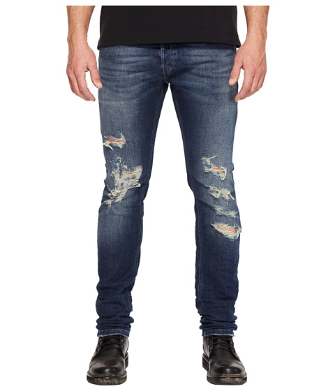 Just Cavalli Super Slim Fit Destroyed Jeans