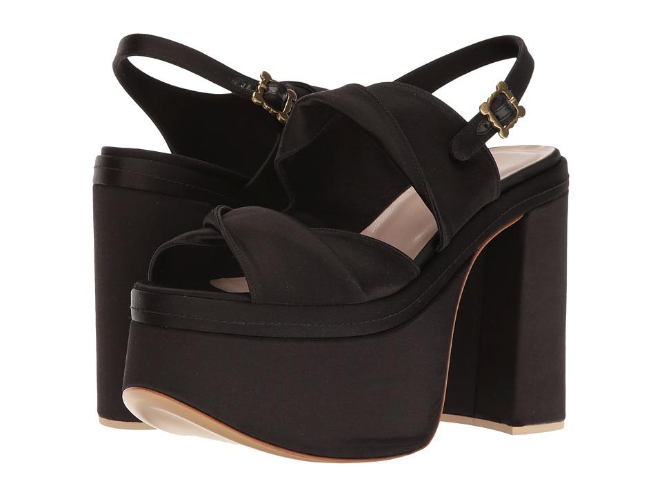 Vivienne Westwood-Coronation Sandal  (Black) Womens Sandals