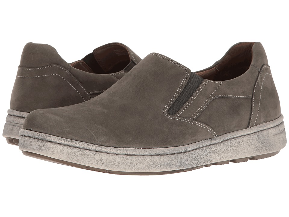 Dansko Viktor (Slate Milled Nubuck) Men's Slip on  Shoes