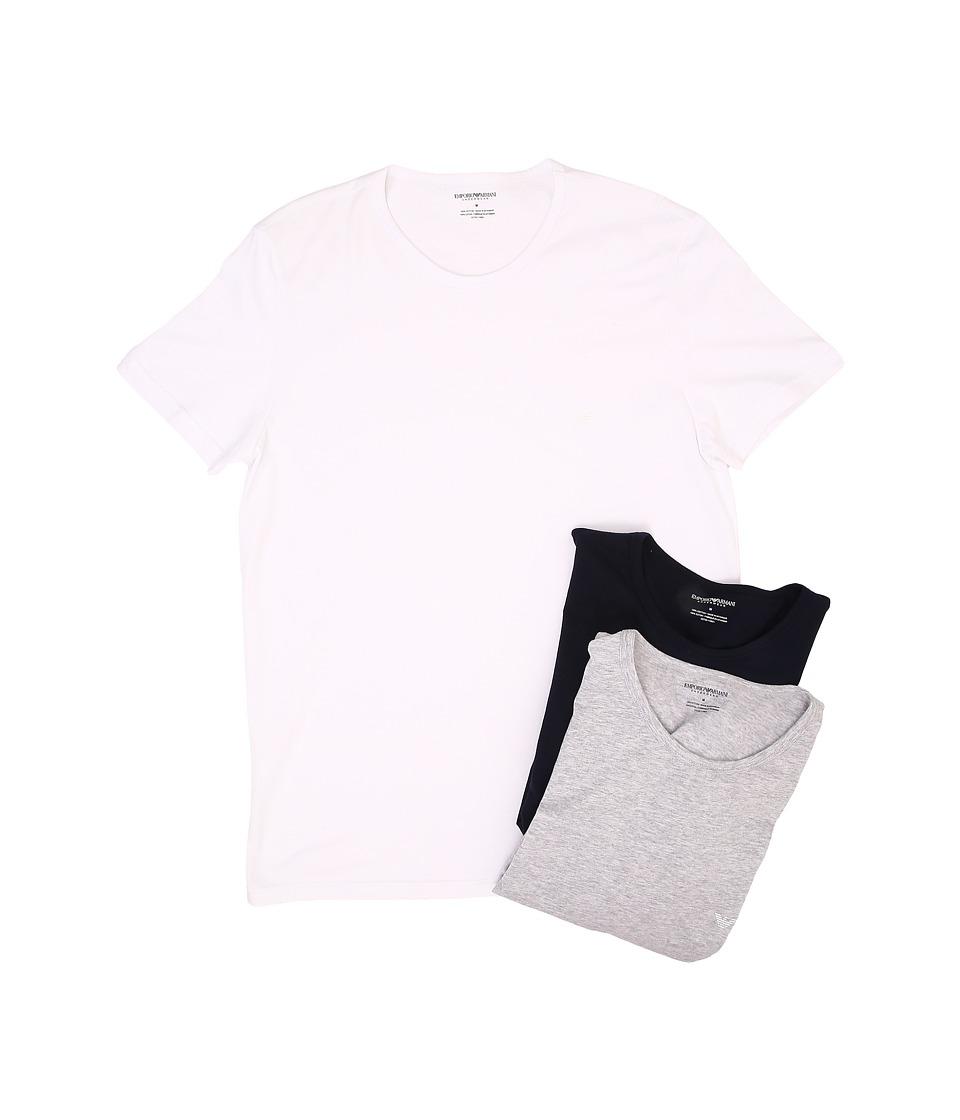 Emporio Armani - 3-Pack Crew Neck T-Shirt