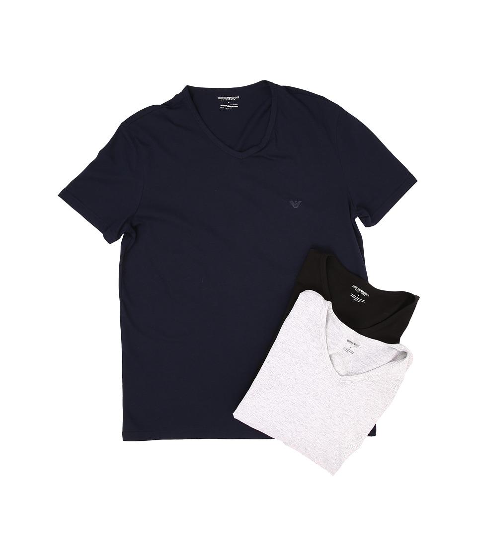 Emporio Armani - 3-Pack V-Neck T-Shirt
