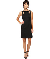 Tahari by ASL - Shoulder Cut Out Sheath in Faille