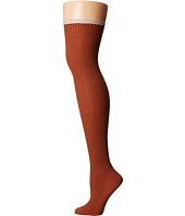 Free People - Sable Lurex Over-The-Knee Socks