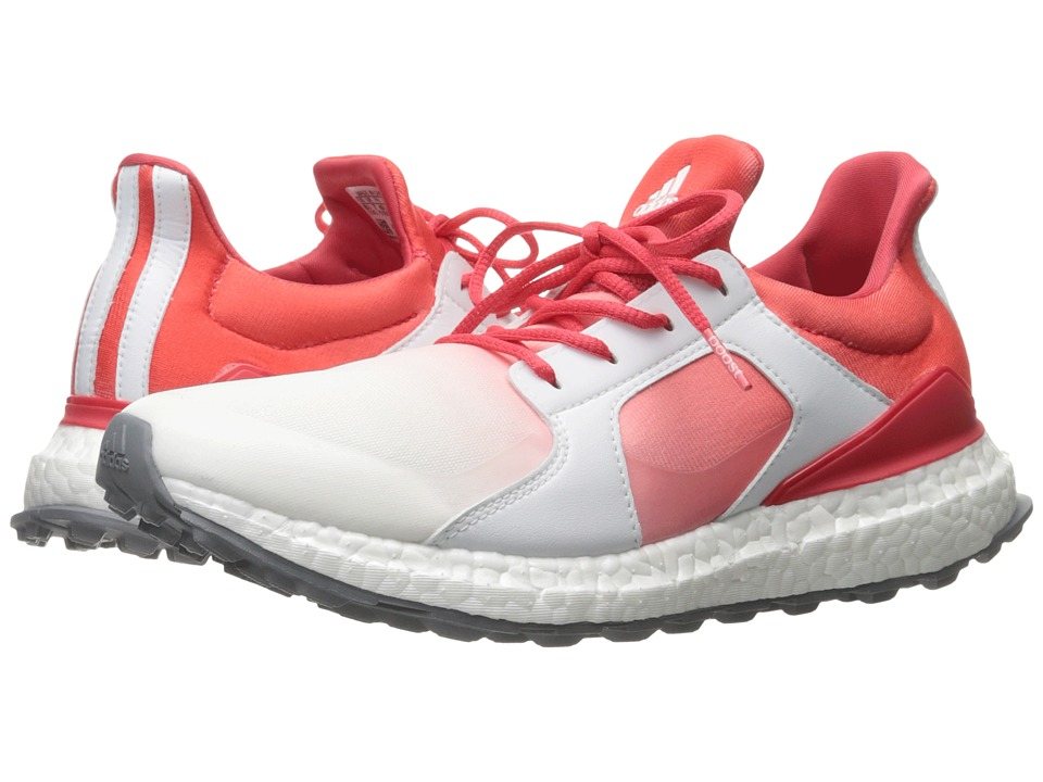 adidas Golf Climacross Boost (Core Pink/Ftwr White/Silver Metallic) Women