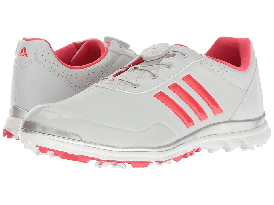 buy online 46d81 4e630 Adidas Golf - Adistar Lite Boa (Clear GreyCore PinkSilv.