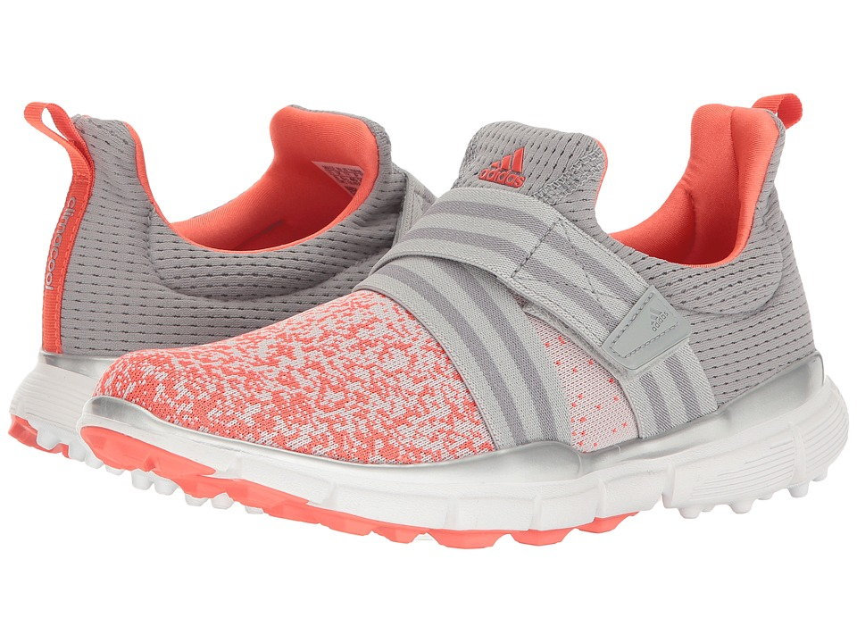 adidas Golf Climacool Knit (Light Onix/Clear Onix/Easy Coral) Women
