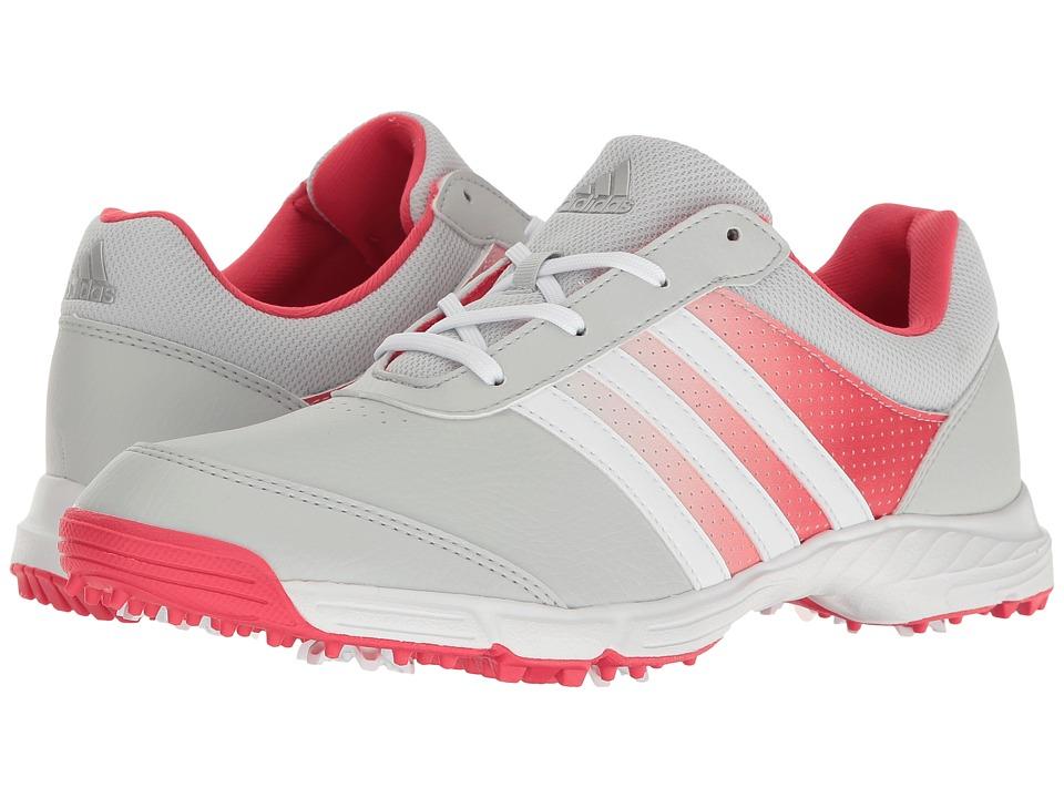adidas Golf Tech Response (Clear Grey/Ftwr White/Core Pink) Women's Golf Shoes