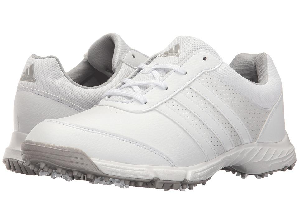 adidas Golf Tech Response (Ftwr White/Ftwr White/Matte Silver) Women's Golf Shoes