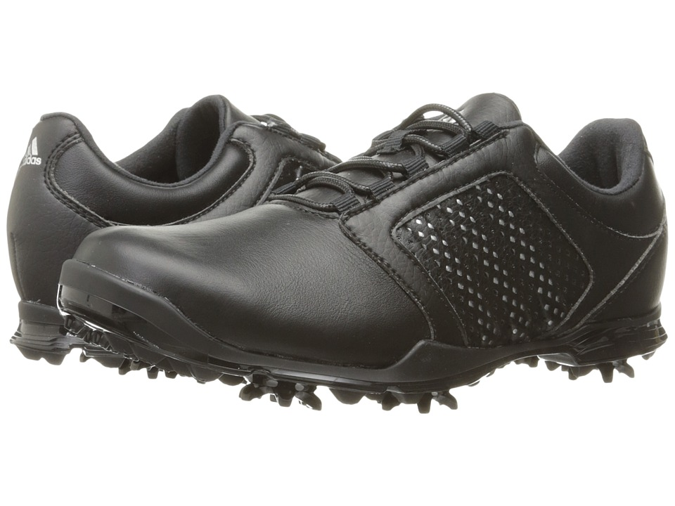 Adidas Golf - Adipure Tour (Core Black/Silver Metallic/Co...