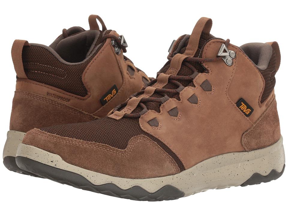 Teva - Arrowood Mid WP (Bison) Mens Shoes