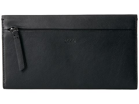 ECCO Sculptured Large Wallet - Black