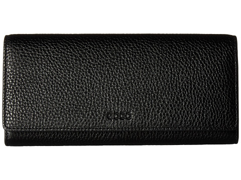 ECCO SP Continental Wallet - Black