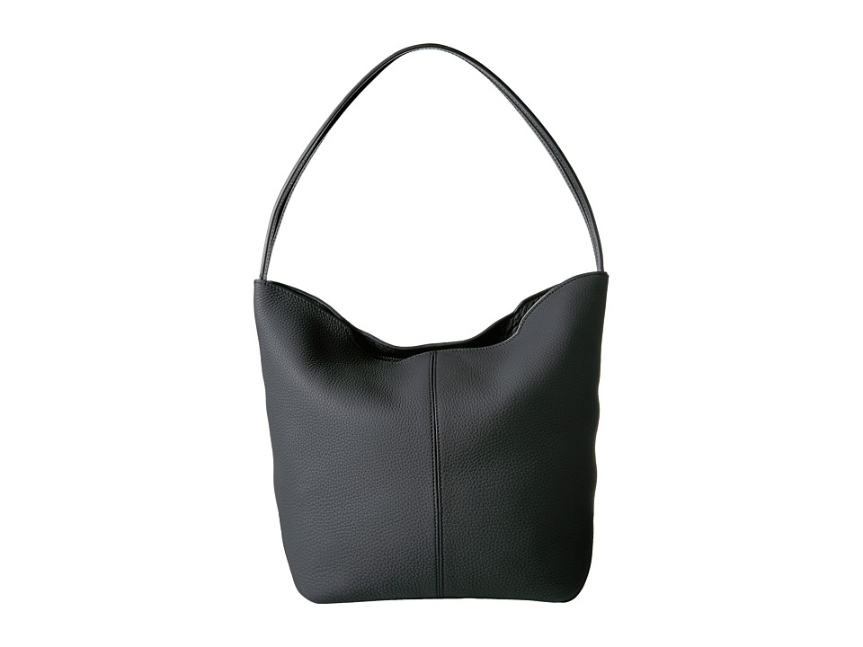 Ecco Jilin Hobo Bag (Black) Hobo Handbags