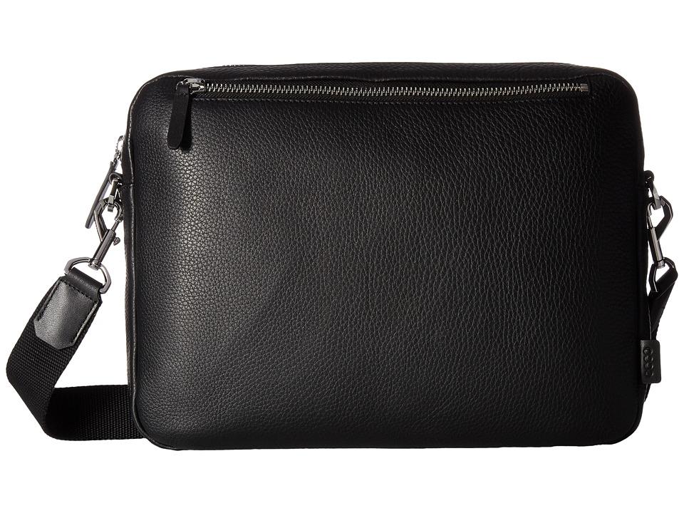 ECCO Eday L Messenger (Black) Messenger Bags