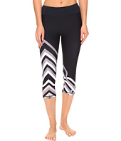Trina Turk - Lattice Wrap Mid Length Leggings
