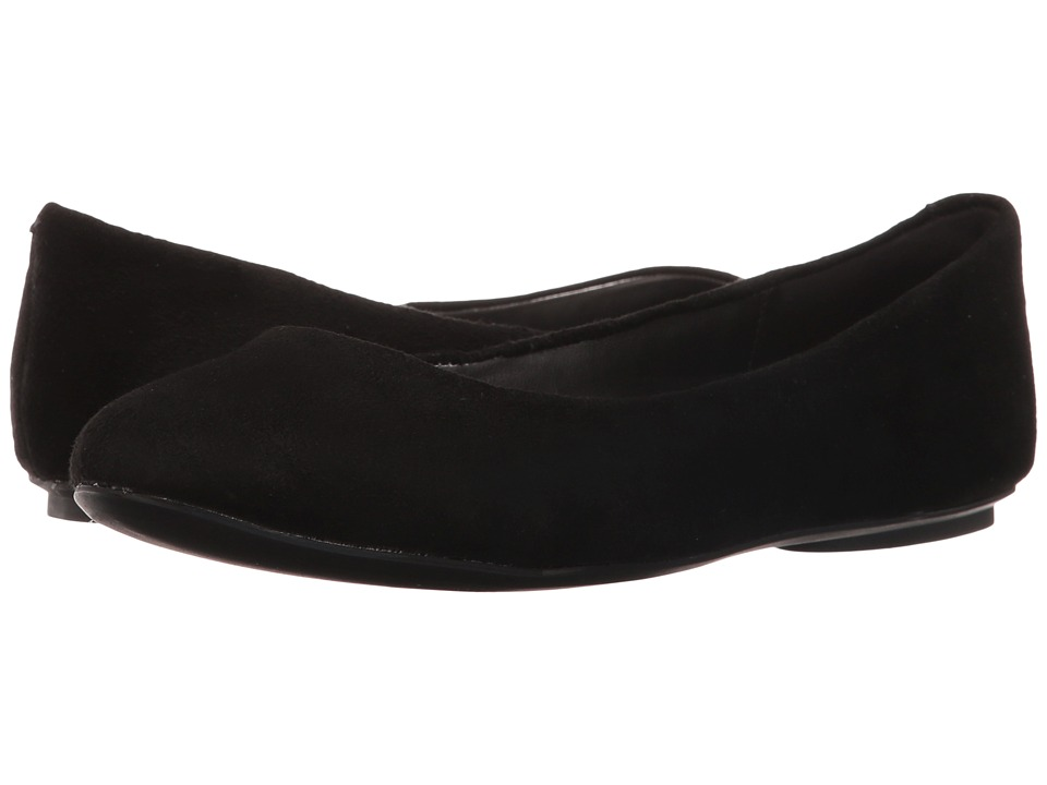 Kenneth Cole Reaction Slip On By (Black Suede) Flats