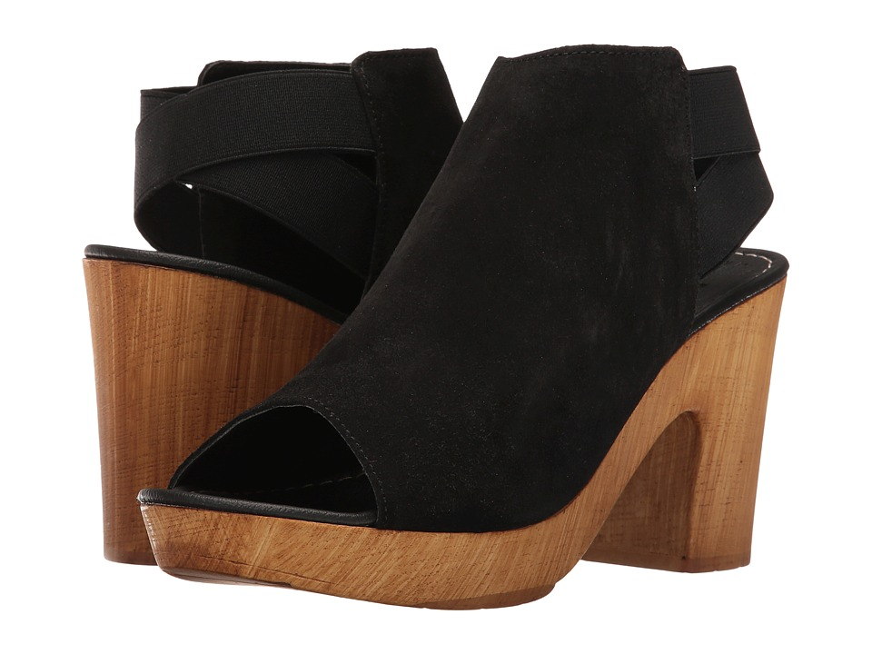 Kenneth Cole Reaction Log Line (Black Suede) Women