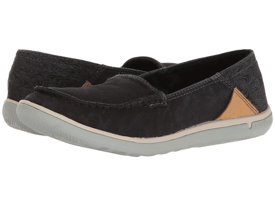 Merrell - Duskair Moc (Black 1) Womens Shoes