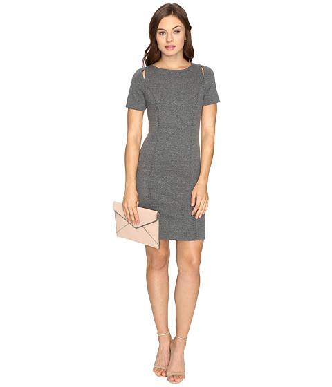 kensie Basket Weave Knit Dress KSDK7485
